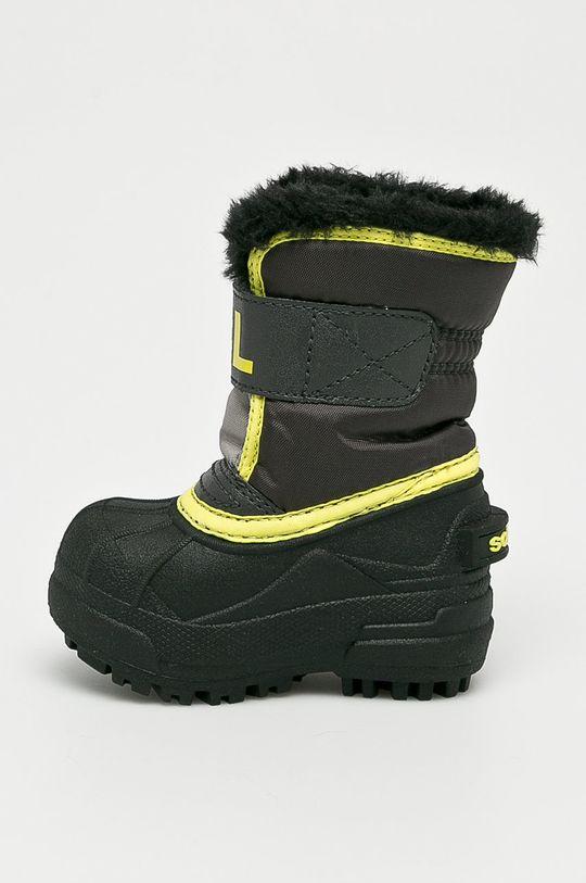 Sorel - Detské topánky Toddler Snow Commander <p>Zvršok: Textil, Syntetická látka Vnútro: Textil Podrážka: Syntetická látka</p>