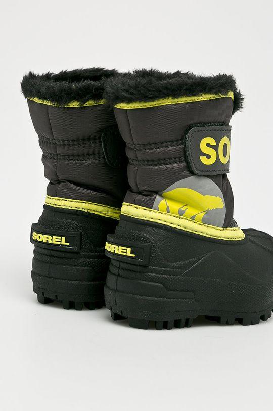 čierna Sorel - Detské topánky Toddler Snow Commander