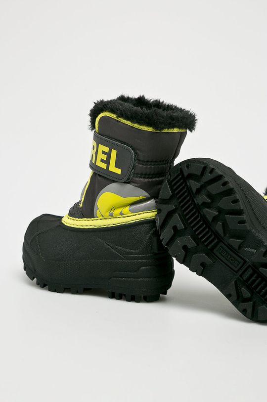 Sorel - Detské topánky Toddler Snow Commander Chlapčenský