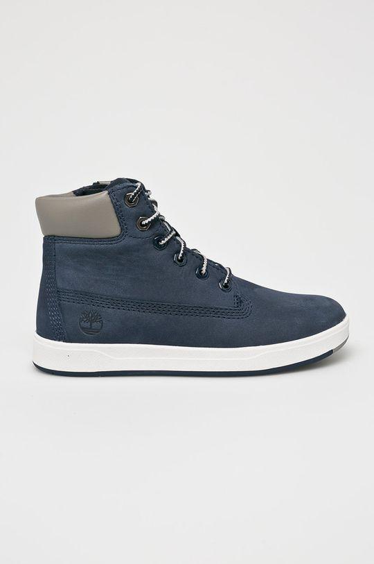 modrá Timberland - Detské topánky Chlapčenský
