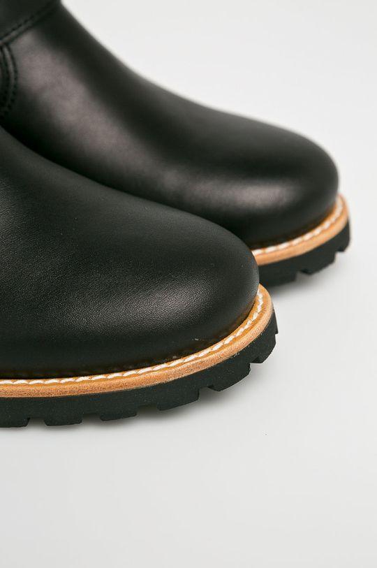 černá Panama Jack - Nízké kozačky
