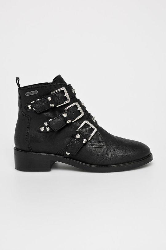negru Pepe Jeans - Botine Devon Straps De femei