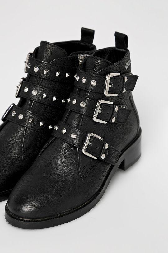 Pepe Jeans - Botine Devon Straps negru