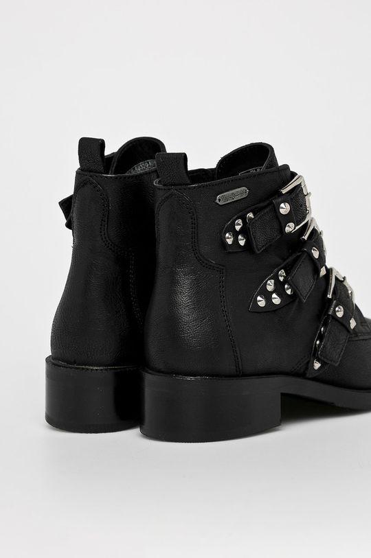 negru Pepe Jeans - Botine Devon Straps