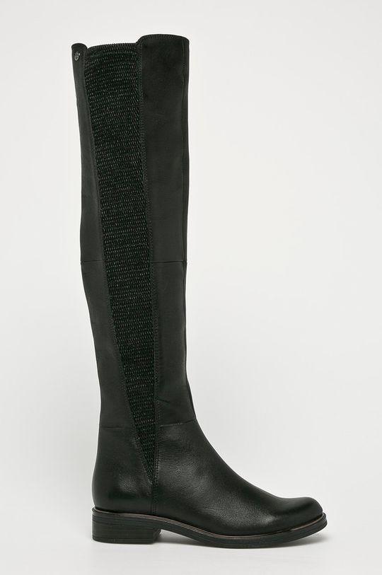 černá Caprice - Kozačky Dámský