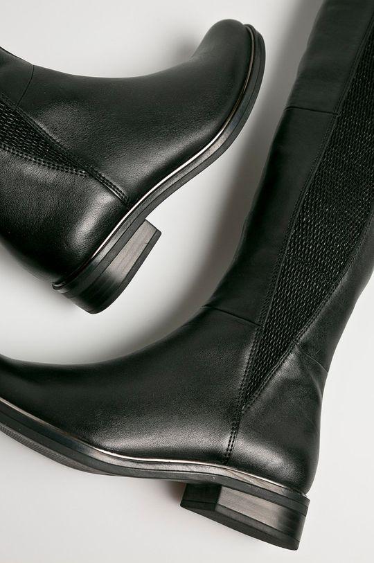 černá Caprice - Kozačky