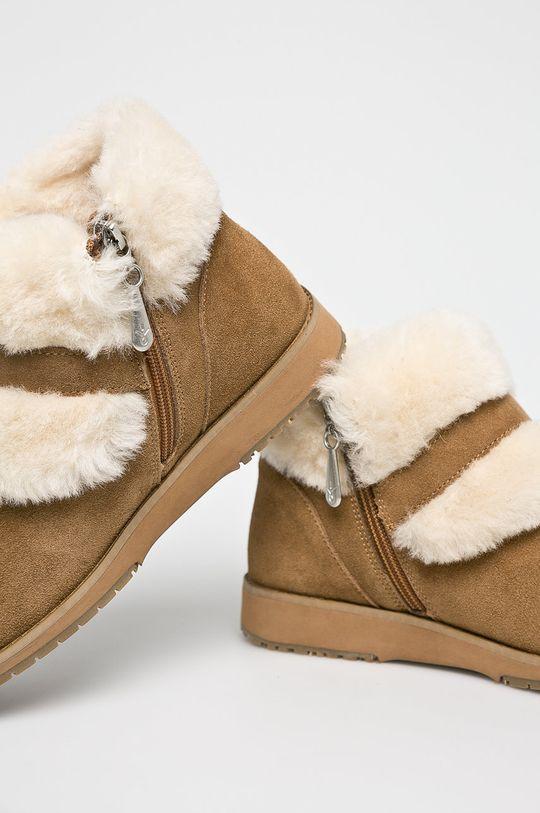 ciemny brązowy Emu Australia - Botki Oxley Fur Cuff