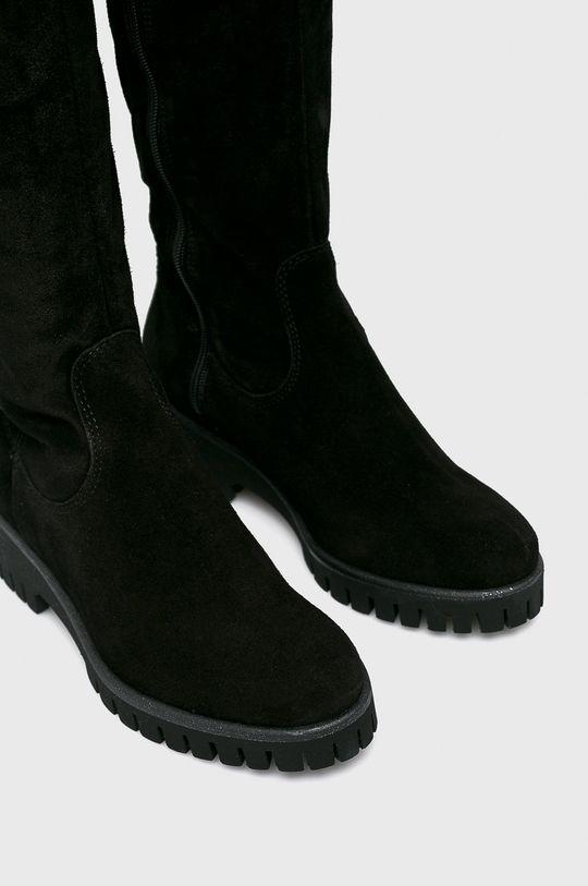 Tamaris - Vysoké čižmy čierna