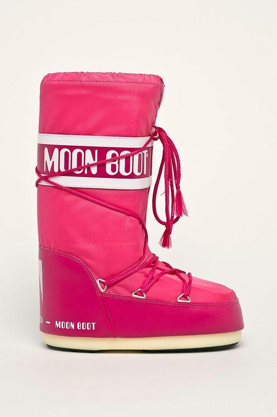 roz ascutit Moon Boot - Cizme de iarna De femei