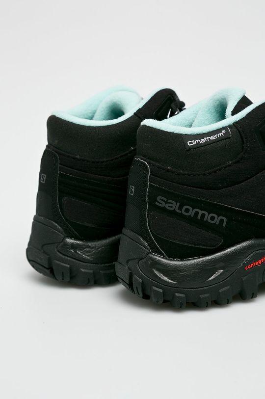 fekete Salomon - Cipő Shelter Cs Wp W