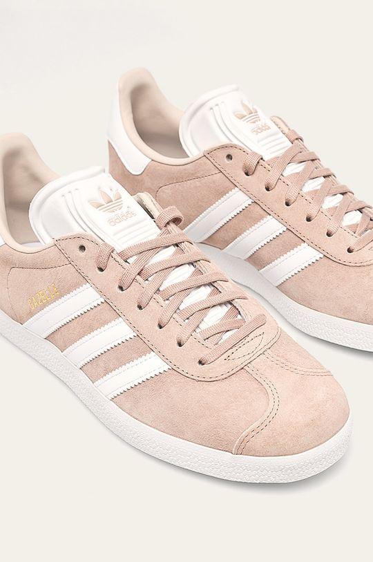 adidas Originals - Topánky Gazelle W béžová