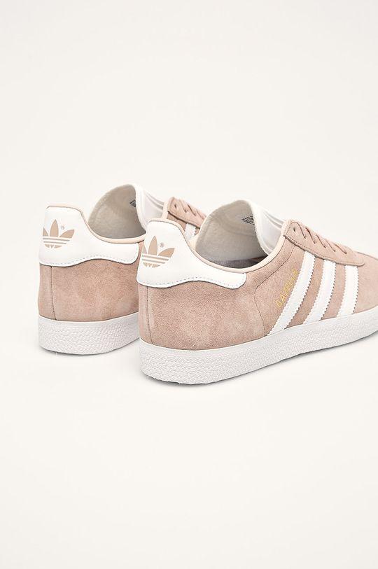 adidas Originals - Topánky Gazelle W <p>Zvršok: Syntetická látka, Prírodná koža Vnútro: Textil, Prírodná koža Podrážka: Syntetická látka</p>