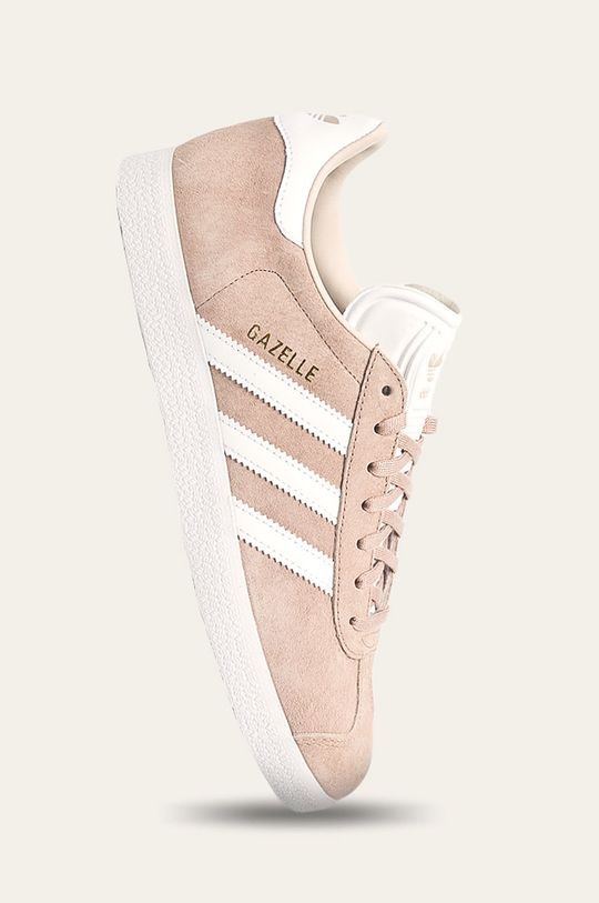 béžová adidas Originals - Topánky Gazelle W