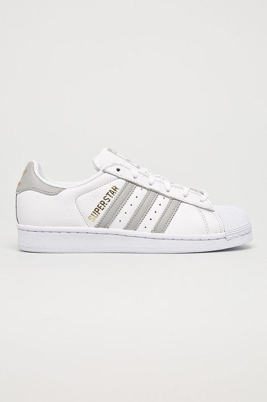 biela adidas Originals - Topánky Superstar Dámsky