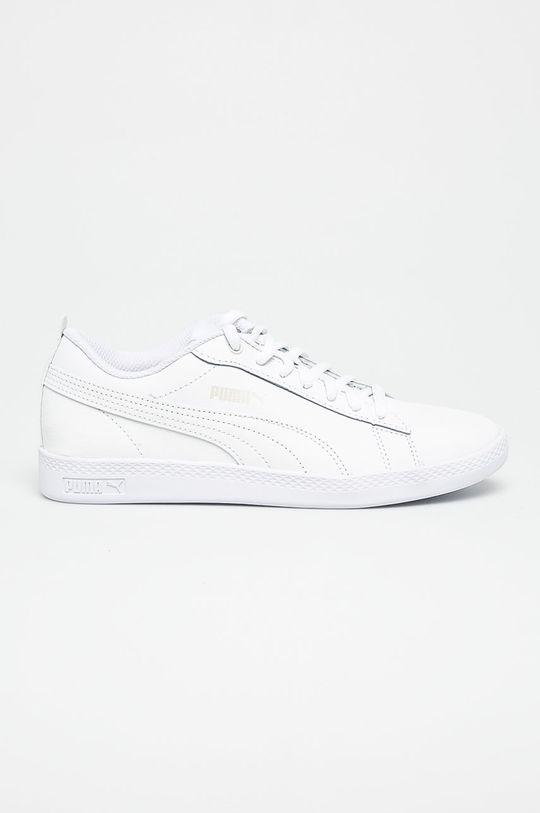 biela Puma - Topánky Smash Wns v2 L Dámsky