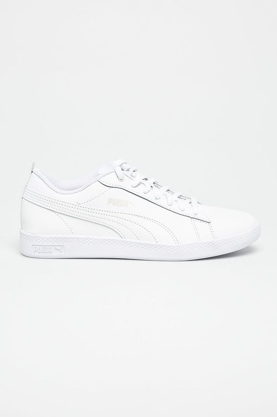 biały Puma - Buty Smash Wns v2 L Damski