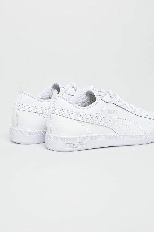 biały Puma - Buty Smash Wns v2 L