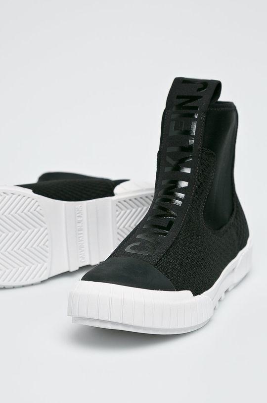 czarny Calvin Klein Jeans - Botki