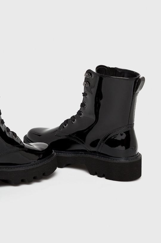 czarny Calvin Klein Jeans - Botki Diahne