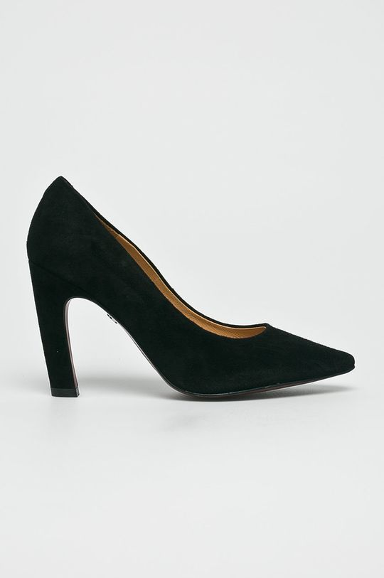 čierna Solo Femme - Lodičky Dámsky