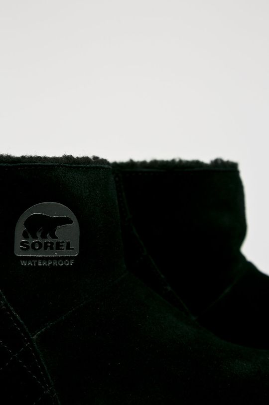 czarny Sorel - Botki