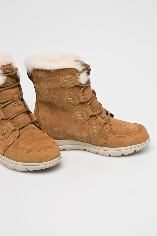 Sorel - Śniegowce Explorer Joan brązowy