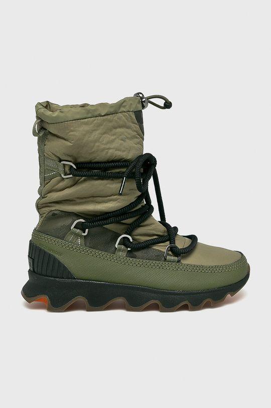 zelená Sorel - Čižmy Kinetic Boot Dámsky