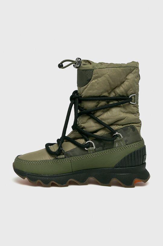 zelená Sorel - Čižmy Kinetic Boot