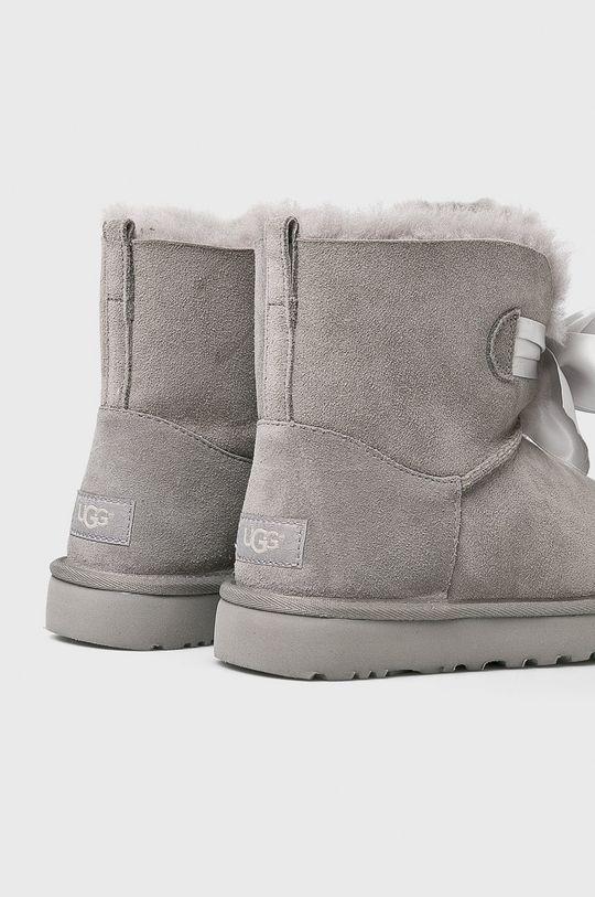UGG - Śniegowce Gita Bow Mini Cholewka: Skóra zamszowa, Wnętrze: Materiał tekstylny, Wełna, Podeszwa: Materiał syntetyczny