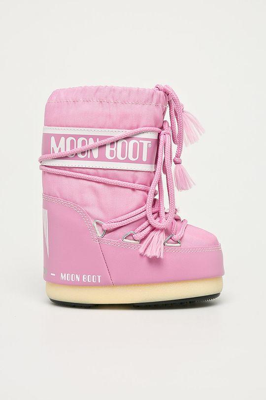 roz Moon Boot - Cizme de iarna copii De fete
