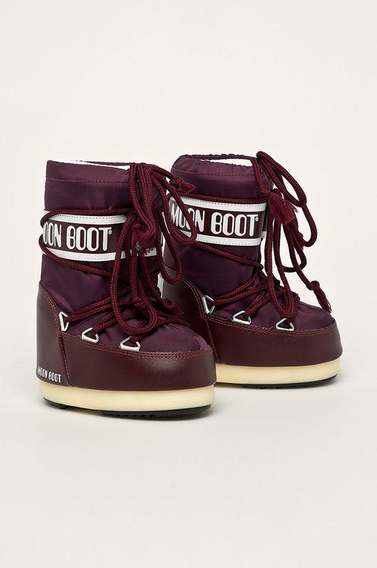 Moon Boot - Cizme de iarna copii castan