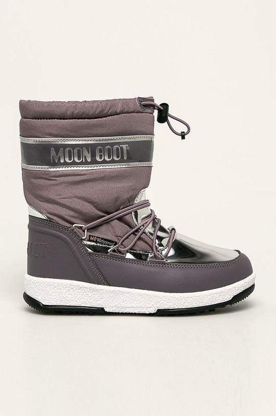 fialová Moon Boot - Detské snehule Soft Dievčenský