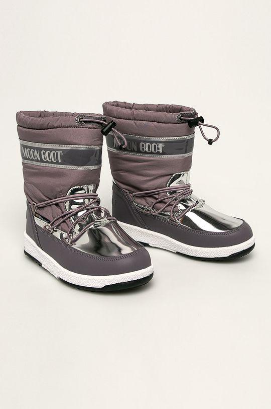 Moon Boot - Detské snehule Soft fialová
