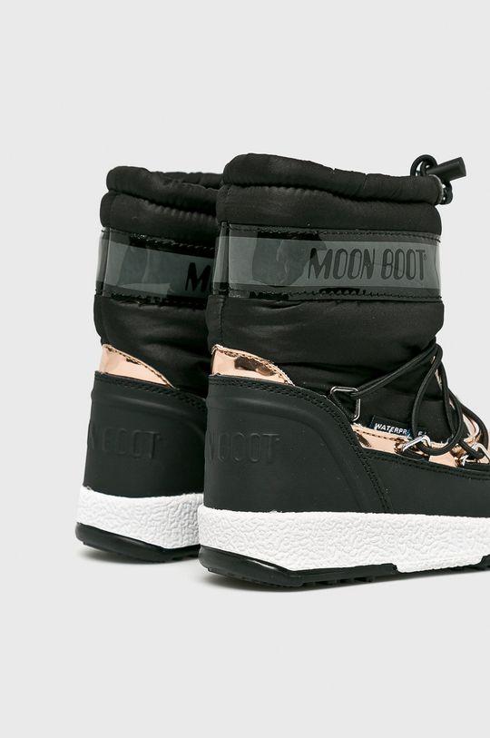 čierna Moon Boot - Detské topánky
