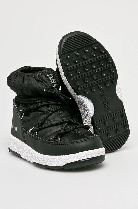 černá Moon Boot - Dětské boty