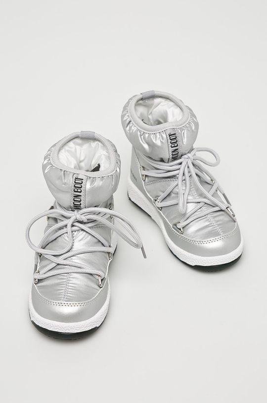 Moon Boot - Dětské boty stříbrná