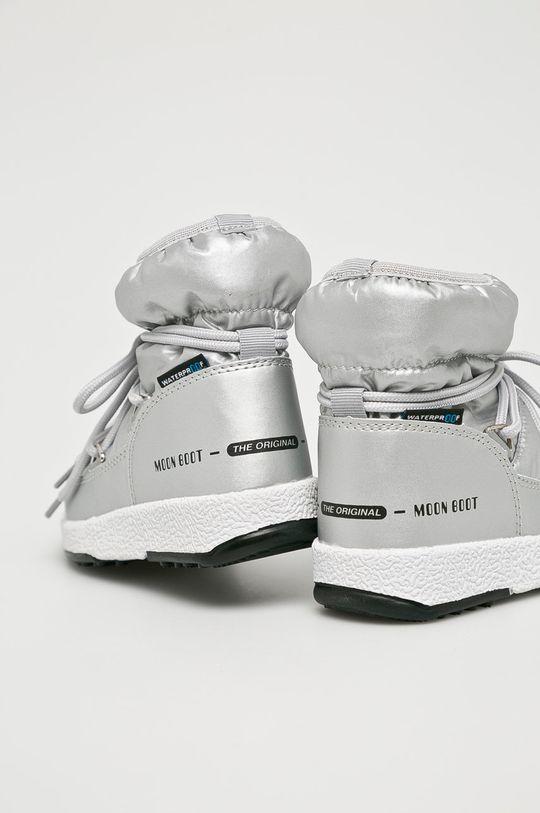 stříbrná Moon Boot - Dětské boty