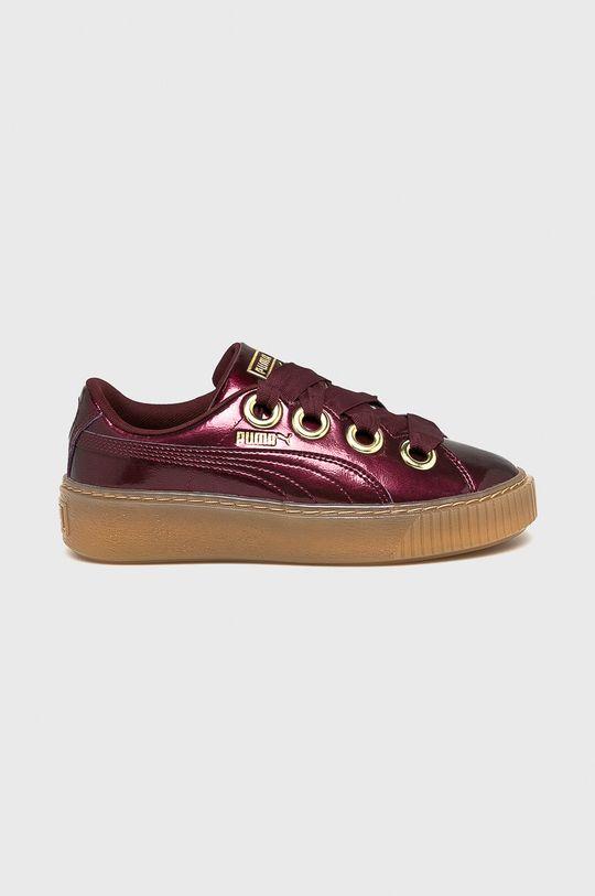 purpuriu inchis Puma - Pantofi Basket Platform Kiss De fete