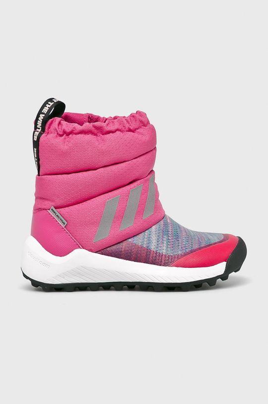 ružová adidas Performance - Detské topánky RapidaSnow Dievčenský