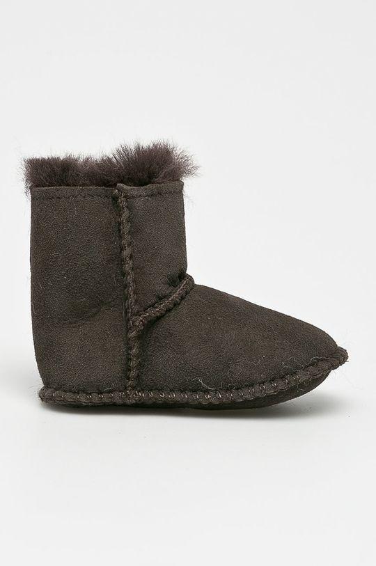 tmavě hnědá Emu Australia - Dětské boty Baby Bootie Dětský