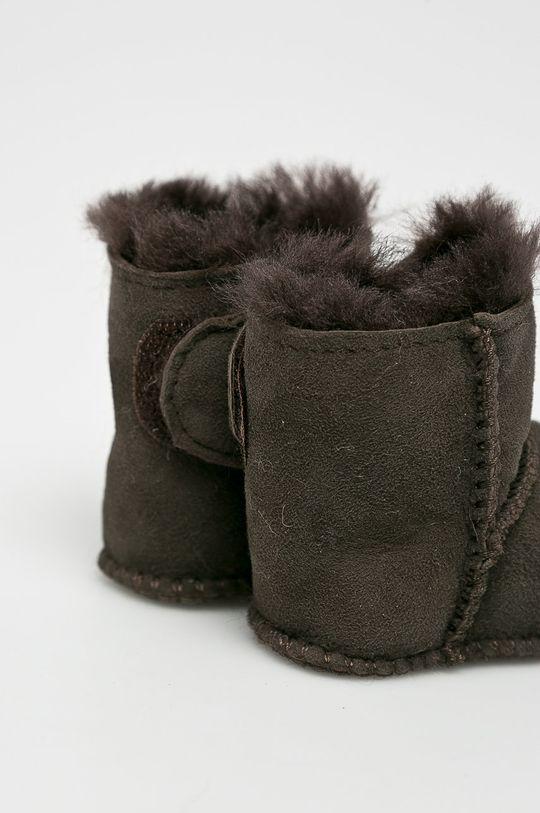 Emu Australia - Dětské boty Baby Bootie tmavě hnědá