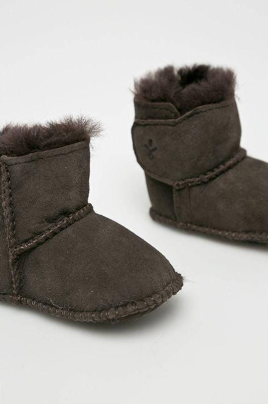 tmavě hnědá Emu Australia - Dětské boty Baby Bootie