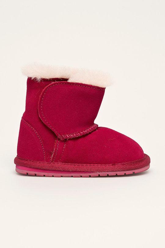 fuksia Emu Australia - Zimné topánky B10737 Detský