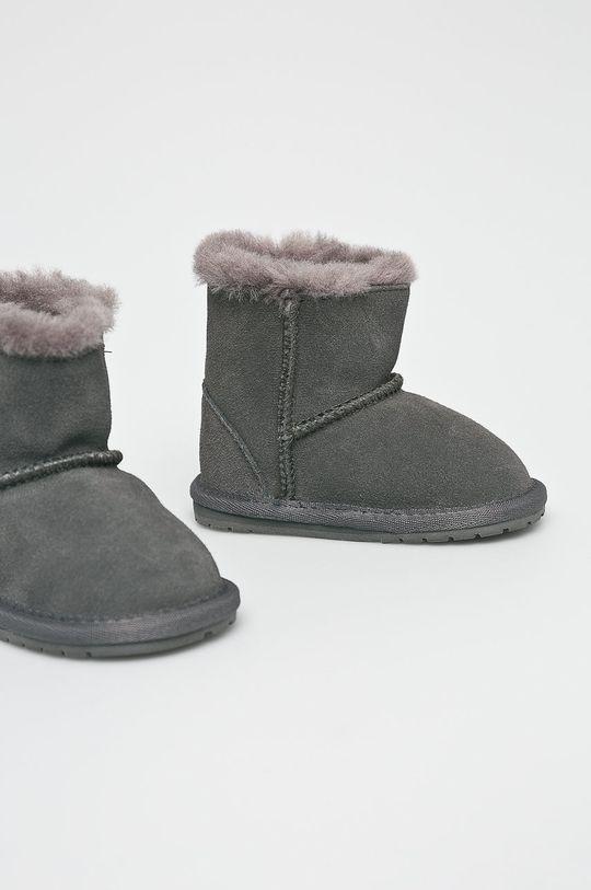 Emu Australia - Śniegowce dziecięce Toddle szary