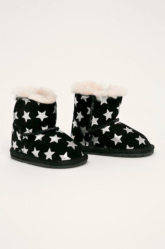 Emu Australia - Zimné topánky B11857 čierna