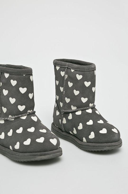 Emu Australia - Dětské boty Brumby Heart šedá