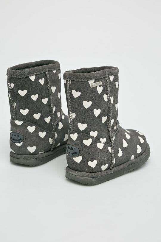 Emu Australia - Dětské boty Brumby Heart Svršek: Přírodní kůže Vnitřek: Merino vlna Podrážka: Umělá hmota