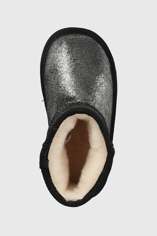 černá Emu Australia - Dětské sněhule Wallaby Mini Metallic
