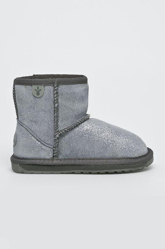 argintiu Emu Australia - Cizme de iarna copii Wallaby Mini Metallic De copii