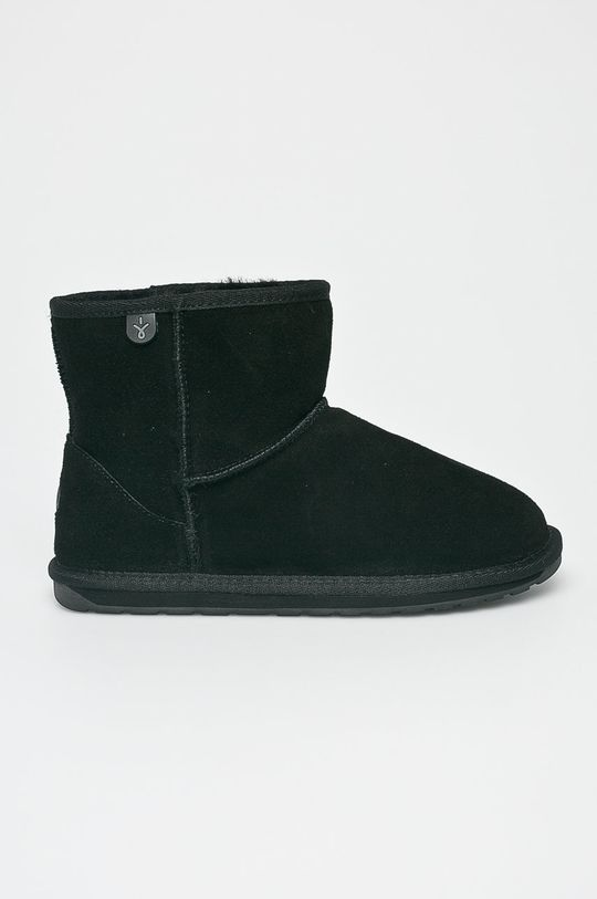 negru Emu Australia - Pantofi Wallaby Mini Teens De copii